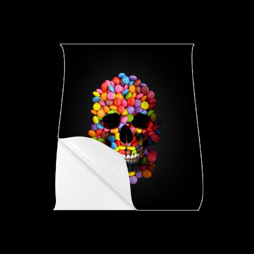 "Halloween Candy Sugar Skull Poster 20""x24"""