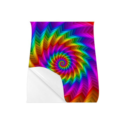 """Psychedelic Rainbow Spiral Fractal Poster 20""""x24"""""""