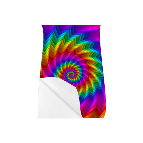 """Psychedelic Rainbow Spiral Fractal Poster 16""""x24"""""""