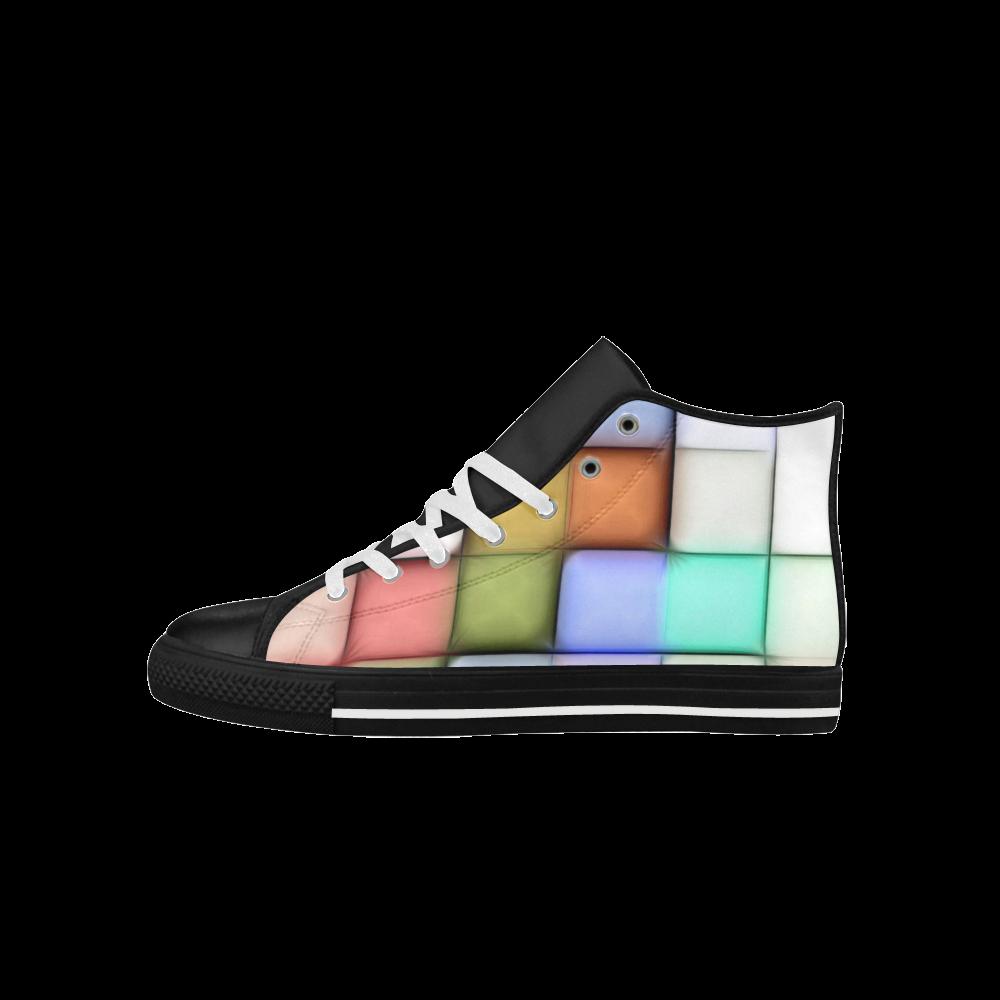 TechTile #4 - Jera Nour Aquila High Top Microfiber Leather Men's Shoes (Model 027)