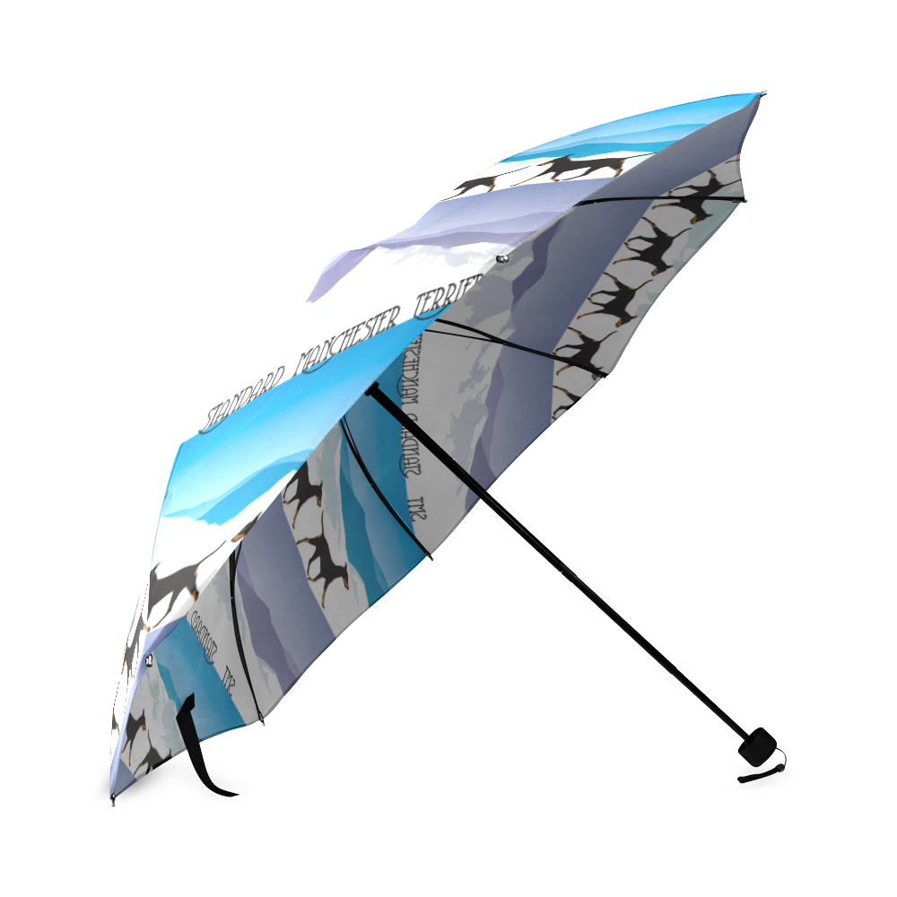 Standard Manchester Terriers Rockin The Rockies Foldable Umbrella (Model U01)