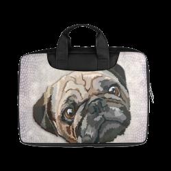 """pug love Macbook Air 15""""(Two sides)"""