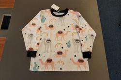 Kids' Rib Cuff Long Sleeve T-shirt (Model T64)