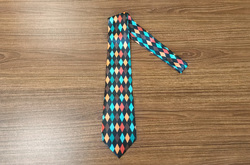 Custom Peekaboo Tie with Hidden Picture