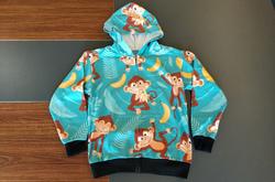 Kids' All Over Print Full Zip Hoodie (Model H39)