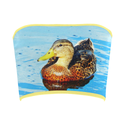 Duck Reflected Bandeau Top
