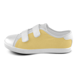 Lemon Drop Velcro Canvas Kid's Shoes (Model 008)