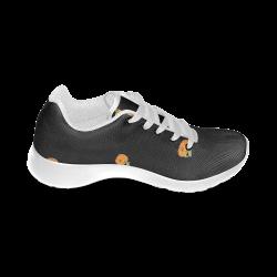 Halloween pumpkin 2 pattern Men's Running Shoes (Model 020)