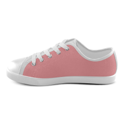 Strawberry Ice Canvas Kid's Shoes (Model 016)