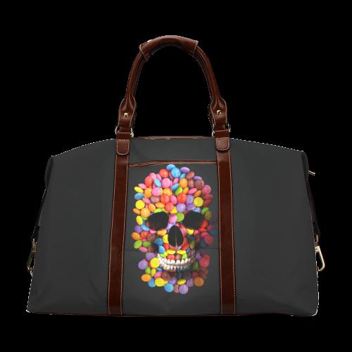 Halloween Candy Sugar Skull Classic Travel Bag (Model 1643)