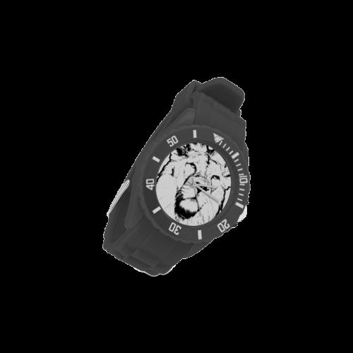 LION VI Sport Rubber Strap Watch(Model 301)
