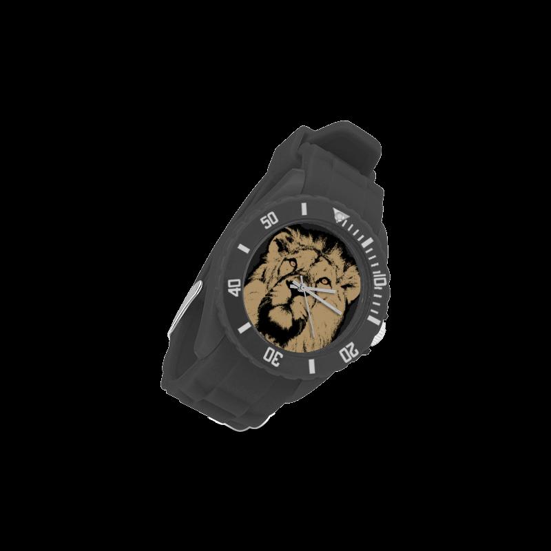 LION Sport Rubber Strap Watch(Model 301)