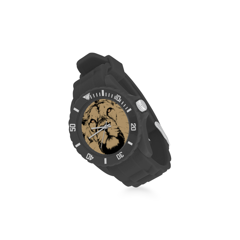 LION II Sport Rubber Strap Watch(Model 301)