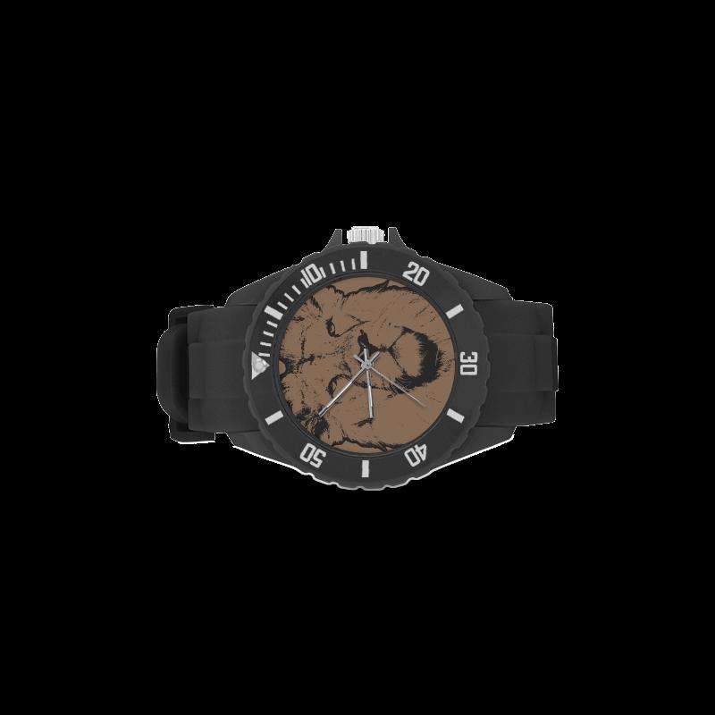 LION III Sport Rubber Strap Watch(Model 301)