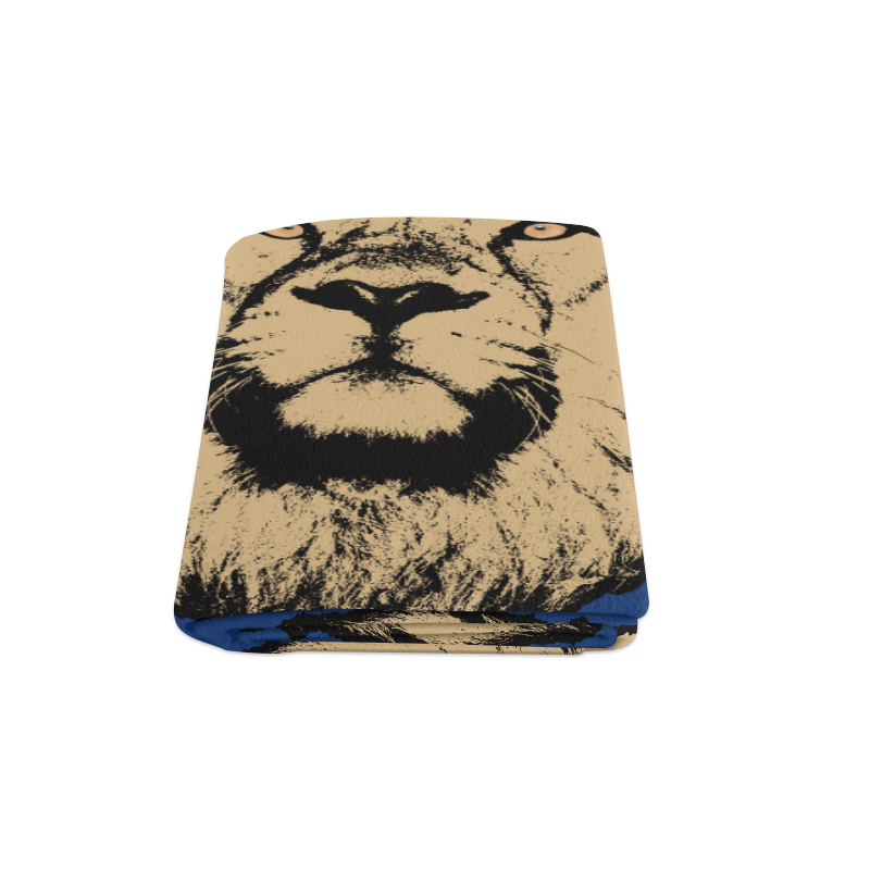 "LION IV Blanket 58""x80"""