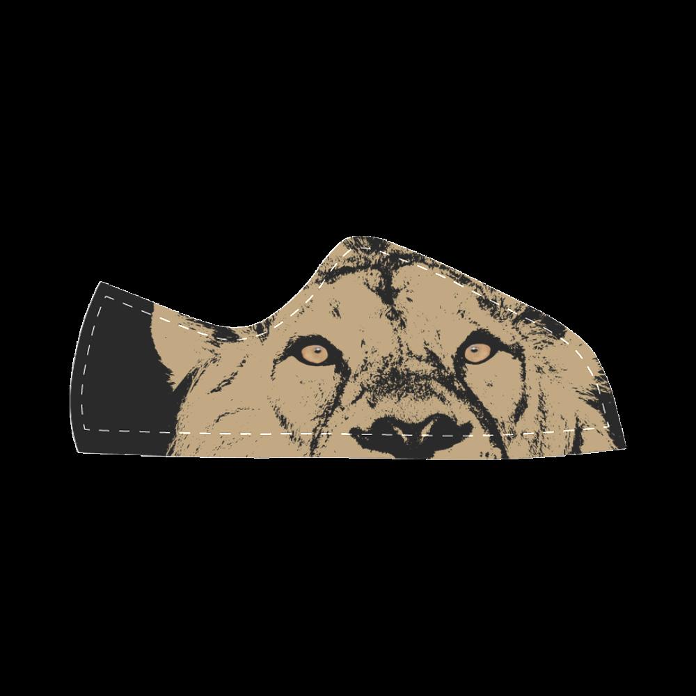 LION Canvas Kid's Shoes (Model 016)
