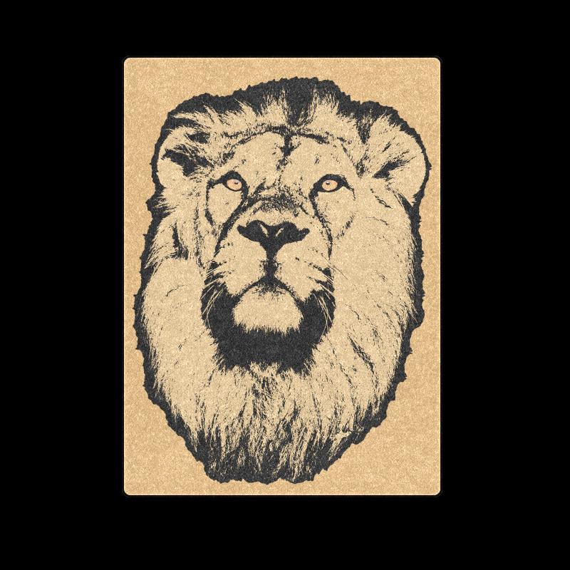 """LION III Blanket 58""""x80"""""""