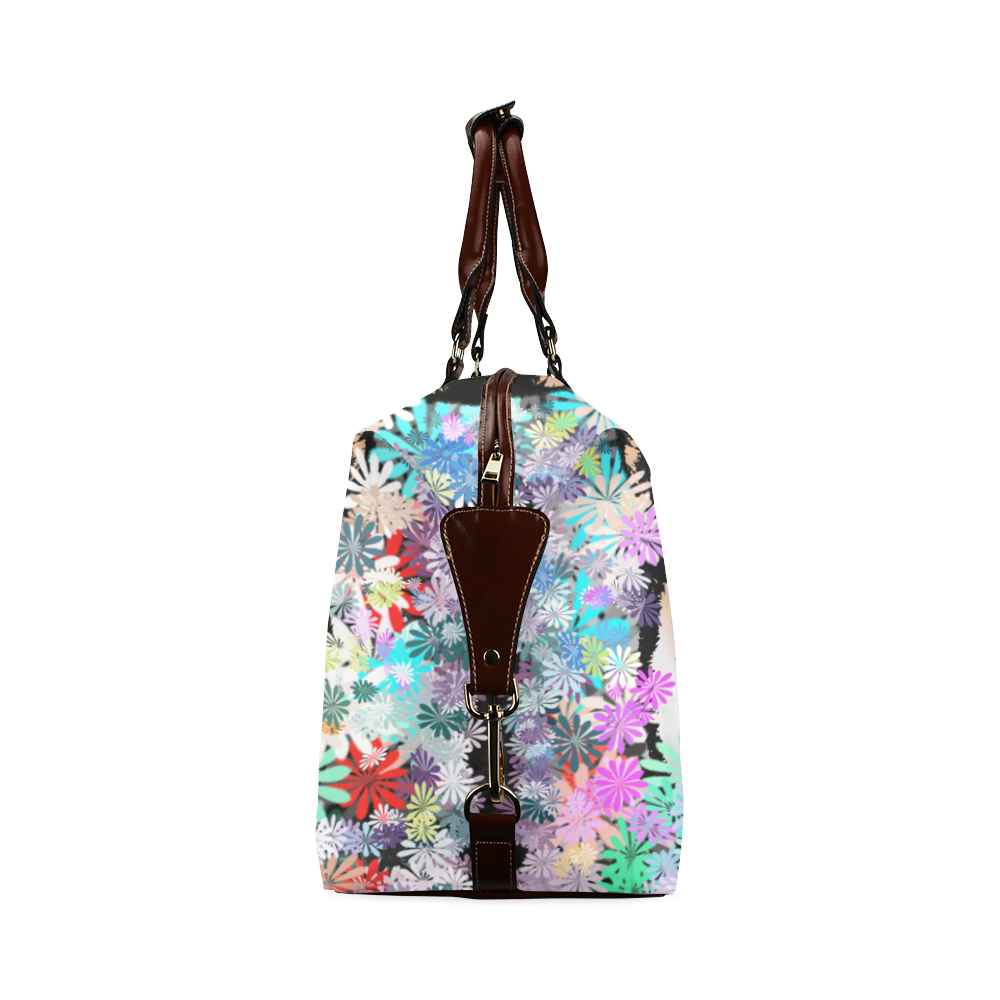 FLOWER TIGER Classic Travel Bag (Model 1643)