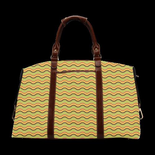 Autumn Joy - Chevron Classic Travel Bag (Model 1643)