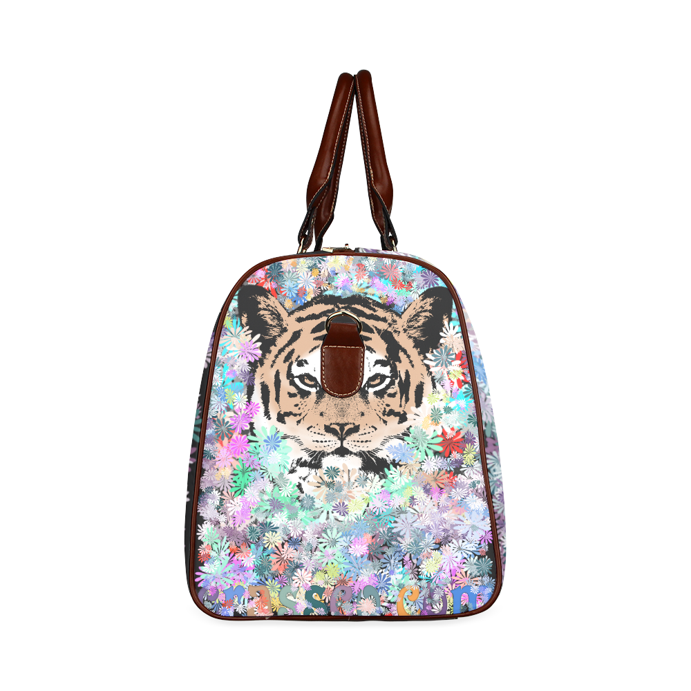 FLOWER TIGER Waterproof Travel Bag/Large (Model 1639)
