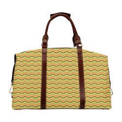 Autumn Joy - Chevron Classic Travel Bag (Model 1643)
