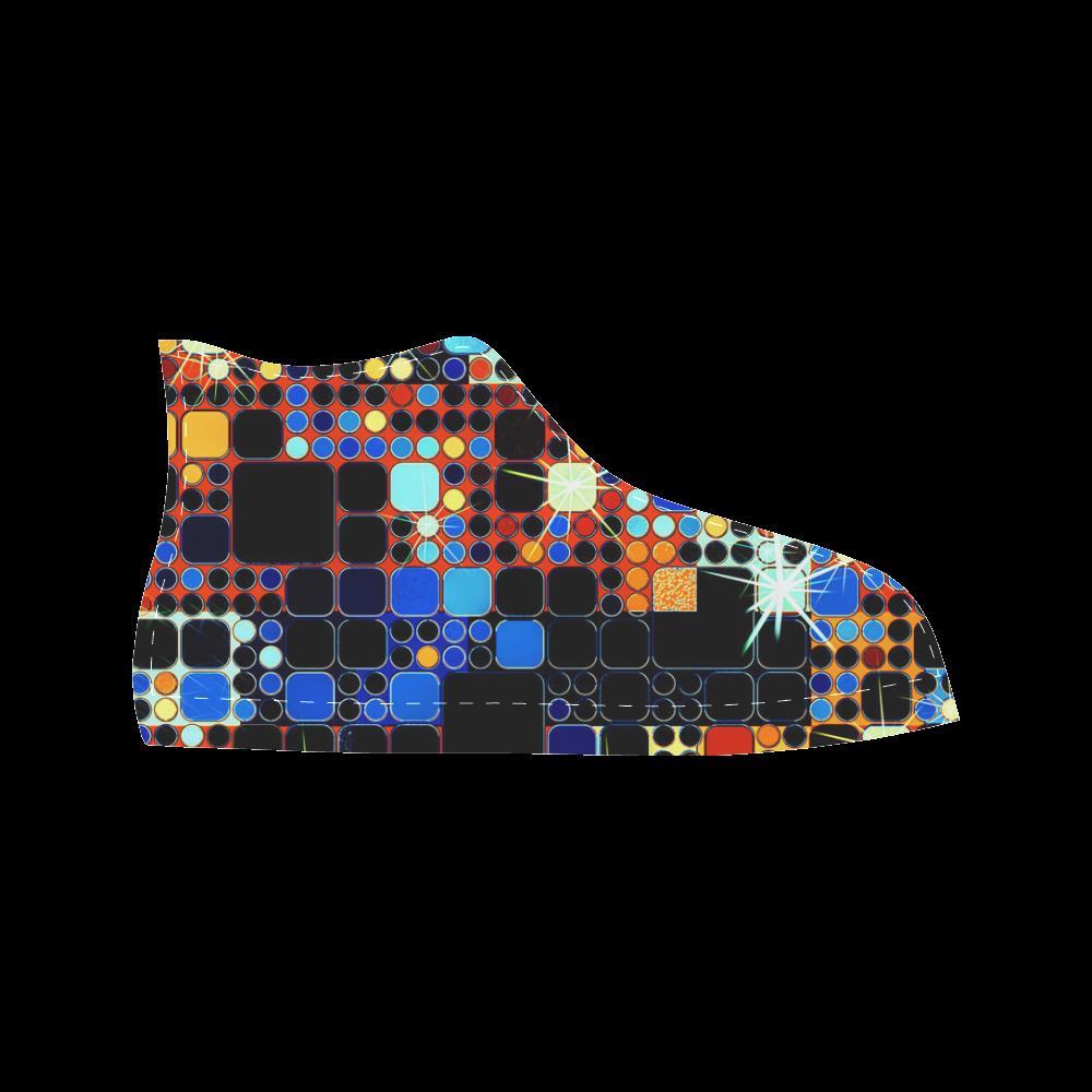TechTile #7 - Jera Nour Aquila High Top Microfiber Leather Men's Shoes (Model 027)