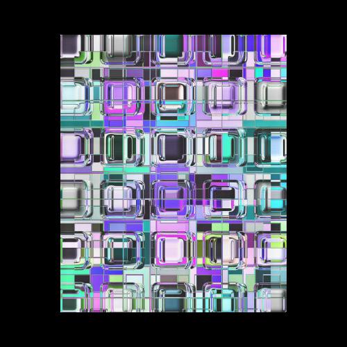 "TechTile #6M - Jera Nour Duvet Cover 86""x70"" ( All-over-print)"