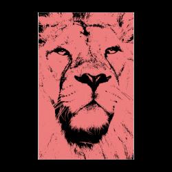 """LION POSTER VX Poster 22""""x34"""""""