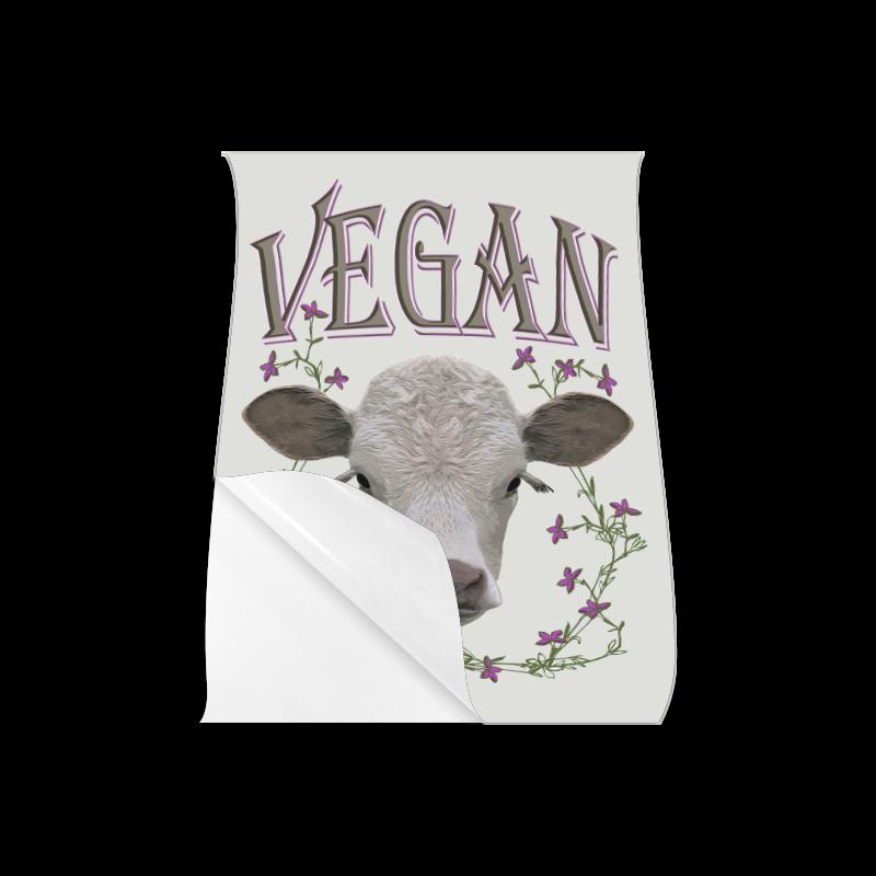 """vegan calf poster VI Poster 18""""x24"""""""
