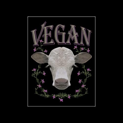"""vegan calf poster II Poster 18""""x24"""""""