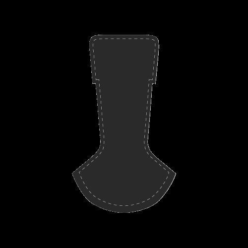 SKULL B - Men Men's Chukka Canvas Shoes (Model 003)