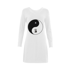 Dogs and Humans Demeter Long Sleeve Nightdress (Model D03)