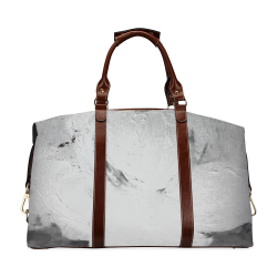 Abstract in Nature ICE BLUE GREY Classic Travel Bag (Model 1643)