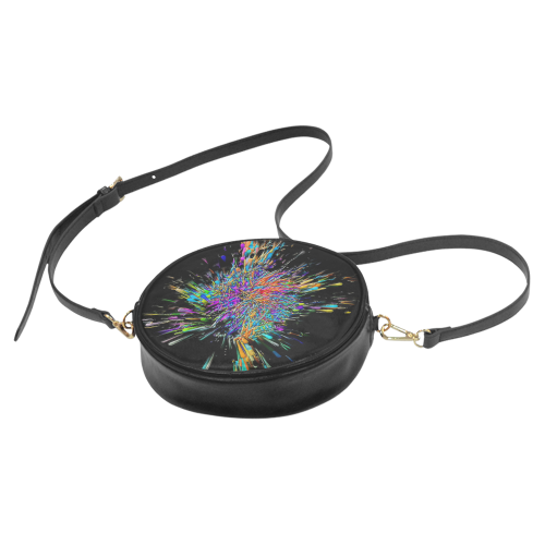 Color Big Bang by Artdream Round Sling Bag (Model 1647)