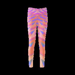 3-D Pastel Chevrons Cassandra Women's Leggings (Model L01)
