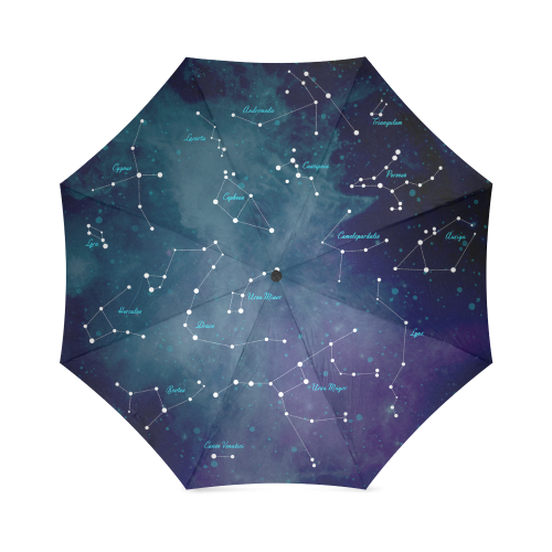 Constellations Foldable Umbrella (Model U01)