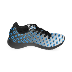 Gradient circles Men's Running Shoes (Model 020)