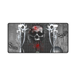 Awesome skull on metal design License Plate