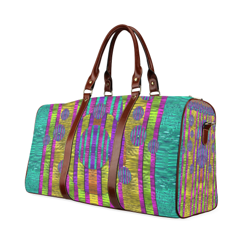 Our world filled of wonderful colors in love Waterproof Travel Bag/Large (Model 1639)