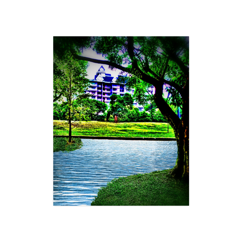 """Condo by the Park - Jera Nour Poster 16""""x20"""""""