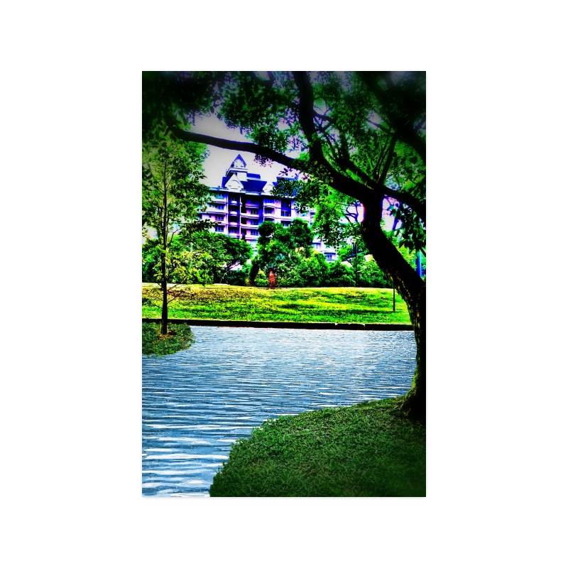 """Condo by the Park - Jera Nour Poster 20""""x30"""""""