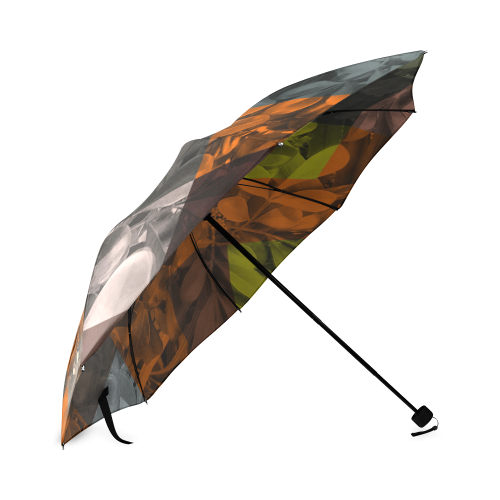 Foliage Patchwork #9 - Jera Nour Foldable Umbrella (Model U01)