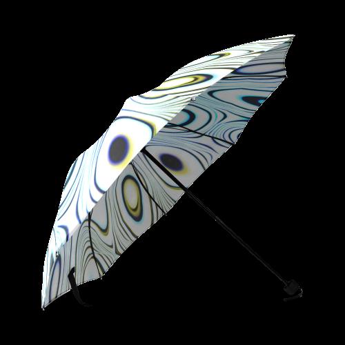 Blast-o-Blob #1 Red-Tint - Jera Nour Foldable Umbrella (Model U01)