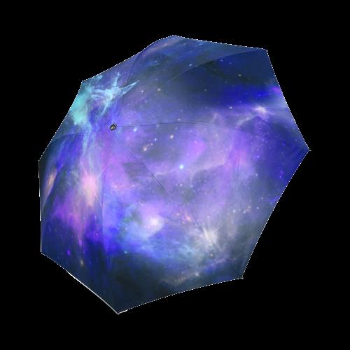 Blue Galaxy Foldable Umbrella (Model U01)