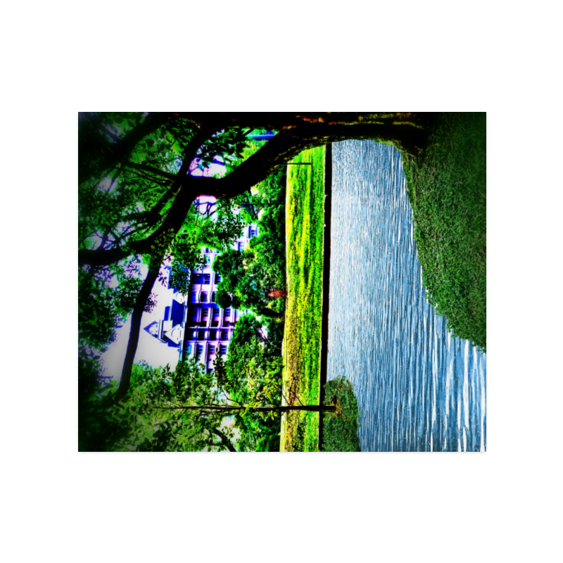 """Condo by the Park - Jera Nour Poster 20""""x24"""""""