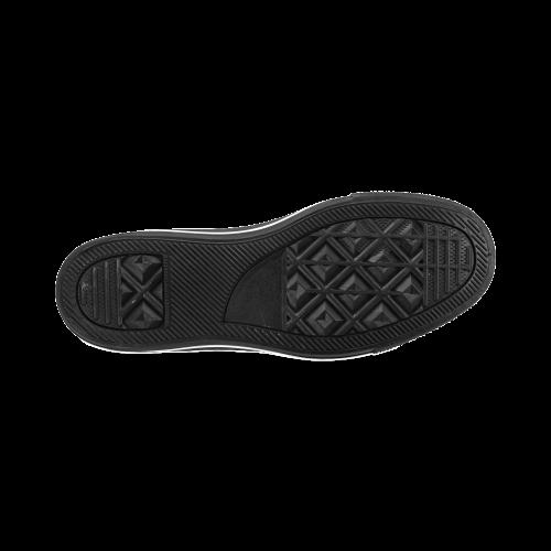 UK Flat - Jera Nour Men's Classic High Top Canvas Shoes /Large Size (Model 017)