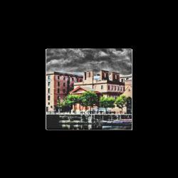 "UK Albert-Dock - Jera Nour Canvas Print 6""x4"""