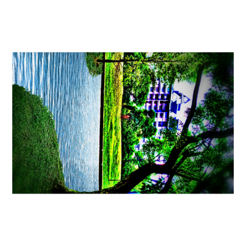 """Condo by the Park - Jera Nour Poster 23""""x36"""""""