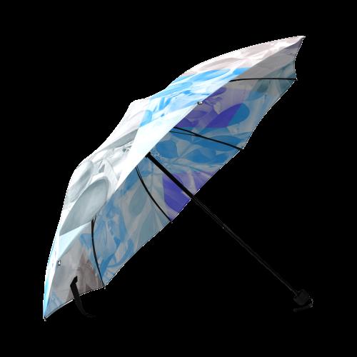 Foliage Patchwork #9 - Jera Nour Foldable Umbrella (Model U01)