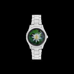 Waterlily Men's Stainless Steel Watch(Model 104)